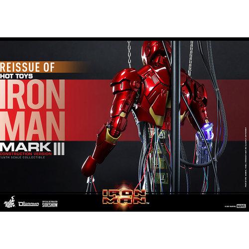 Hot toys Marvel: Iron Man - Iron Man Mark III Construction Version 1:6 Scale Figure
