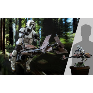Hot toys Star Wars: Return of the Jedi - Scout Trooper and Speeder Bike 1:6 Scale Figure Set
