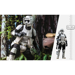 Hot toys Star Wars: Return of the Jedi - Scout Trooper 1:6 Scale Figure