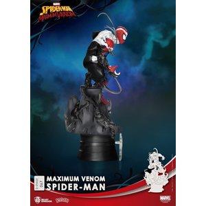 Beast Kingdom Marvel: Maximum Venom Spider-Man PVC Diorama