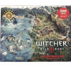 Dark Horse The Witcher 3: Wild Hunt - Witcher World Map Puzzle