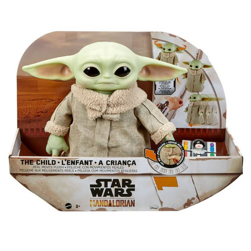 MATTEL The Mandalorian The Child Baby Yoda Pluche