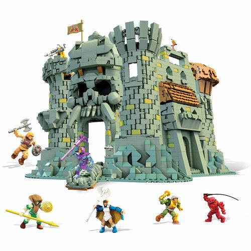 MATTEL Masters of the Universe Mega Construx Probuilder Construction Set Castle Grayskull
