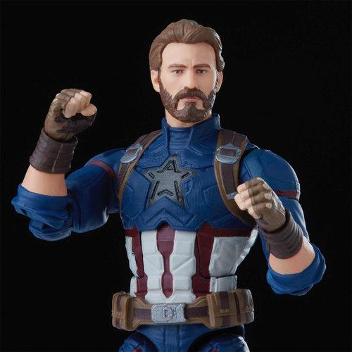 HASBRO Avengers: Infinity War The Infinity Saga Marvel Legends Action Figure Captain America