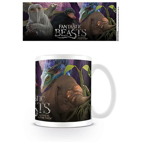 Hole In The Wall Fantastic Beasts Escaped Beasts - Mug