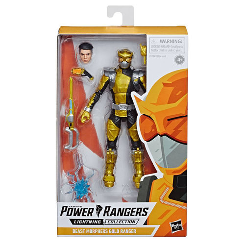 HASBRO Power Rangers Lightning Collection Action Figure 15 cm 2019 Wave 2: Beast Morphers Gold Ranger