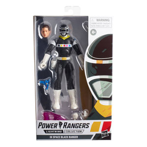 HASBRO Power Rangers Lightning Collection Action Figure 15 cm 2021 Wave 3: In Space Black Ranger