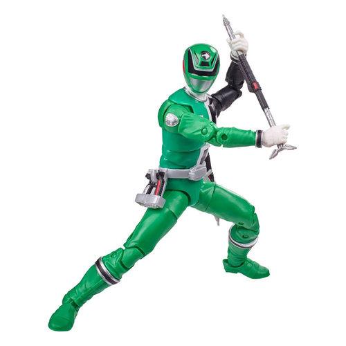 HASBRO Power Rangers Lightning Collection Action Figure 15 cm 2021 Wave 3: S.P.D. Green Ranger