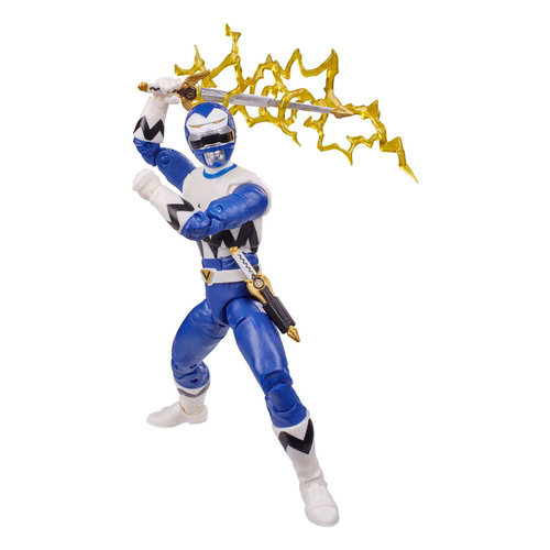 HASBRO Power Rangers Lightning Collection Action Figure 15 cm 2021 Wave 3: Lost Galaxy Blue Ranger