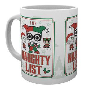 Hole In The Wall DC Comics - Naughty List Christmas Mug