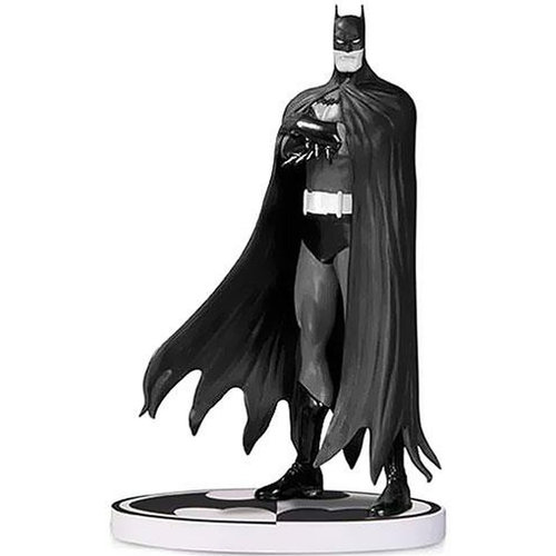 DC COLLECTIBLES Batman: Black & White: Statue: Batman By Brian Bolland (2nd Edition)