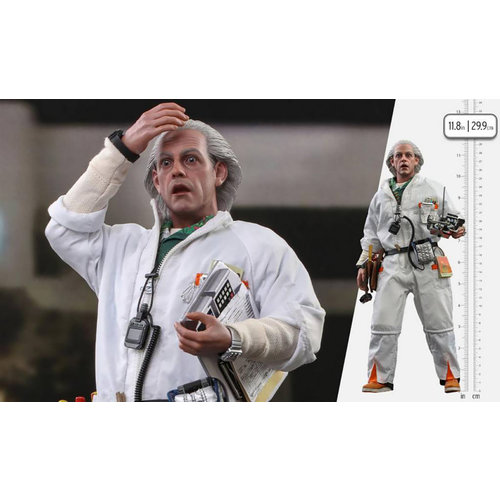 Hot toys Back to the Future: Doc Brown 1:6 Scale Figure