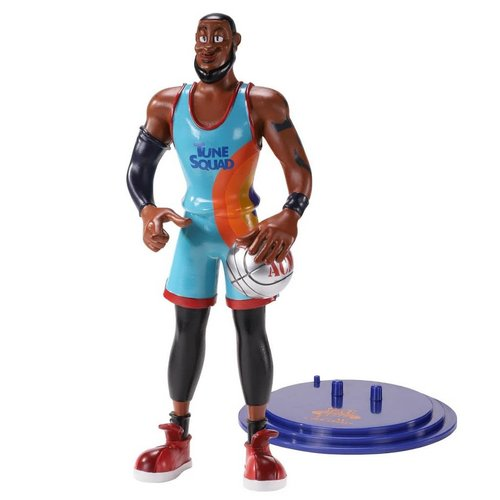 The Noble Collection Space Jam 2: LeBron James Bendyfig