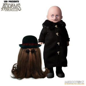 Mezcotoys Living Dead Dolls: The Addams Family 2019 - Fester and Cousin It Figure Set