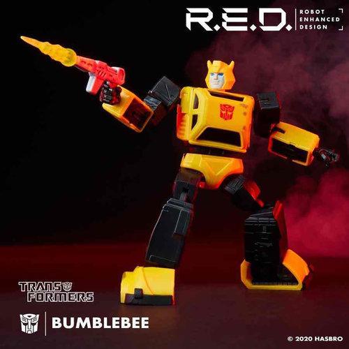 HASBRO Transformers Beast Wars R.E.D. Bumblebee Figure