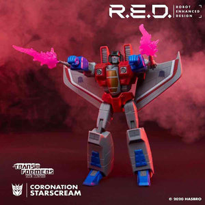 HASBRO Transformers Beast Wars R.E.D. Starscream Figure