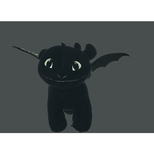 JoyToy How to Train Your Dragon 3 Plush Figure Toothless Glow In The Dark 32 cm