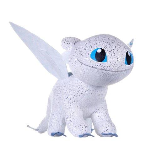 JoyToy How to Train Your Dragon 3 Plush Figure Light Fury Glow In The Dark 32 cm