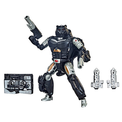 HASBRO Transformers: War for Cybertron - Covert Agent Ravage and Decepticons Forever Ravage SDCC 2021 Excl.