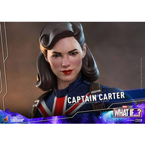Hot toys Marvel: What If - Captain Carter 1:6 Scale Figure