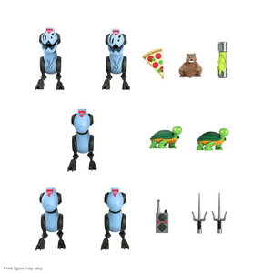 SUPER 7 TMNT: Ultimates Wave 6 - Mousers 3 inch Action Figure 5-Pack