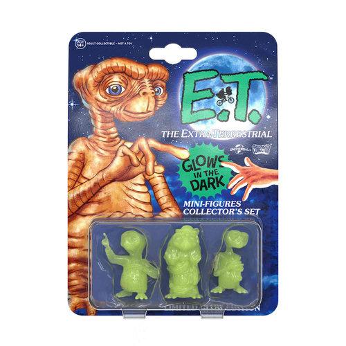 doctor collector E.T. the Extra-Terrestrial: E.T. Glow in the Dark Mini Figure Collector Set