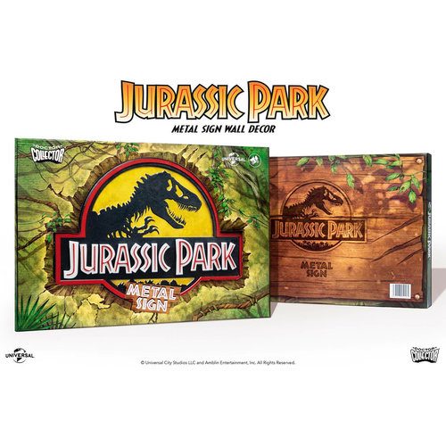 doctor collector Jurassic Park: Logo Metal Sign