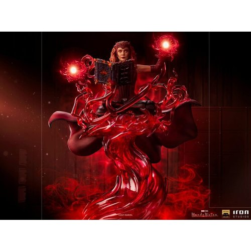 Iron Studios Marvel: WandaVision - Scralet Witch Deluxe 1:10 Scale Statue