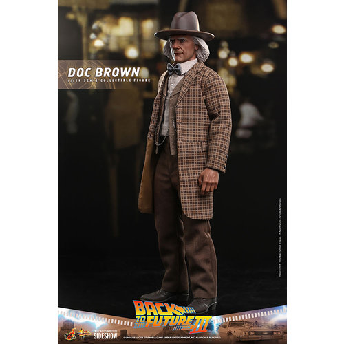 Hot toys Back to the Future 3: Doc Brown 1:6 Scale Figure