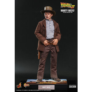 Hot toys Back to the Future 3: Marty McFly 1:6 Scale Figure