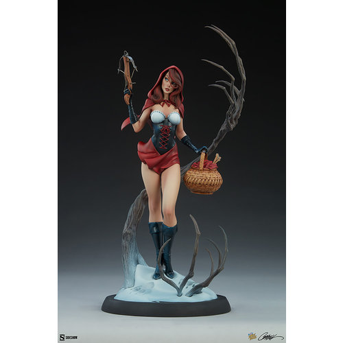 Sideshow Toys Fairytale Fantasies: Red Riding Hood Statue