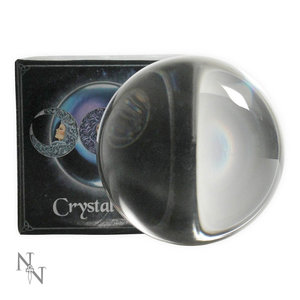Nemesis Now Ltd Wiccan Witchcraft Divination Crystal Ball 11cm