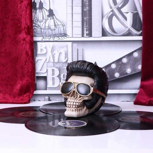 Nemesis Now Ltd Uh Huh The King Elvis Skull Figurine