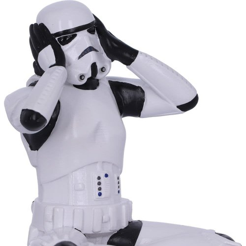 Nemesis Now Ltd Star Wars  Hear No Evil Stormtrooper 10cm