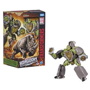 HASBRO Transformers Generations War for Cybertron: Kingdom Voyager WFC-K27 Rhinox