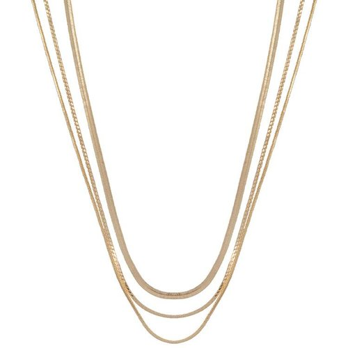 CLUB MANHATTAN Necklace Rebel gold