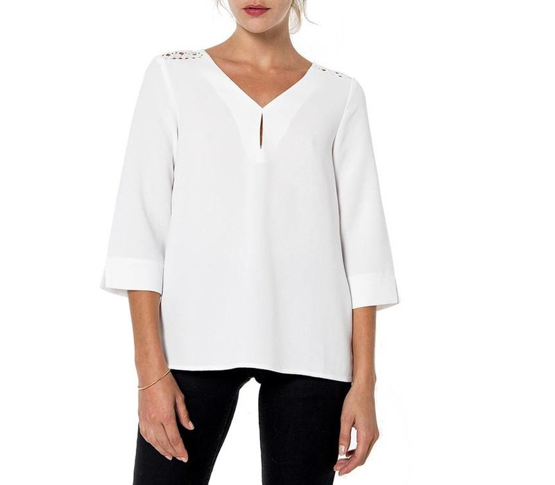 Blouse Laure ecru