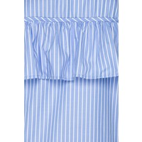 Top Beca blue/white