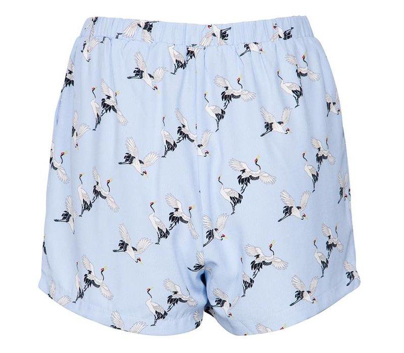 Short Gimpo light blue birds