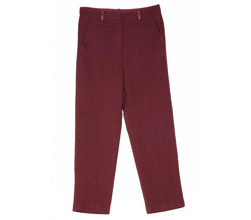 Pantalon Nerola bordeaux