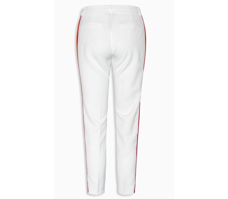 Pants Liza off white stripe