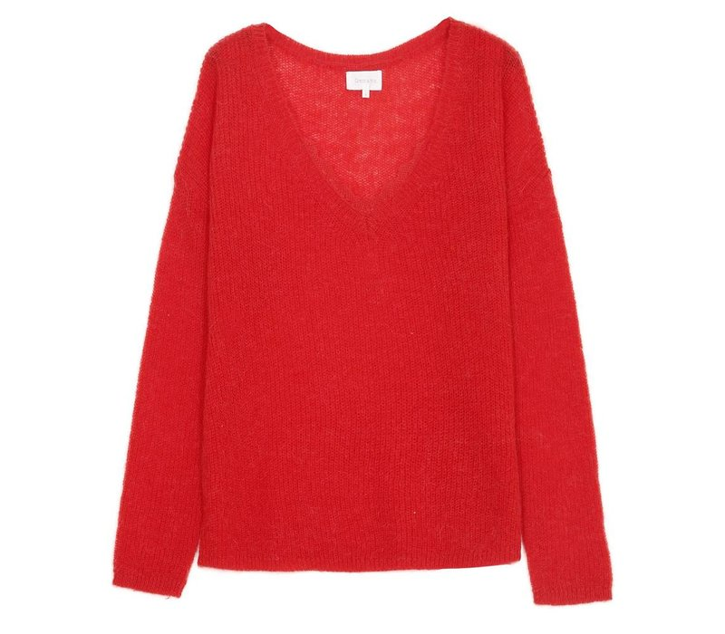 Pullover Sable rood