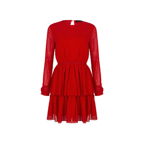 LOFTY MANNER Dress Vincenza red