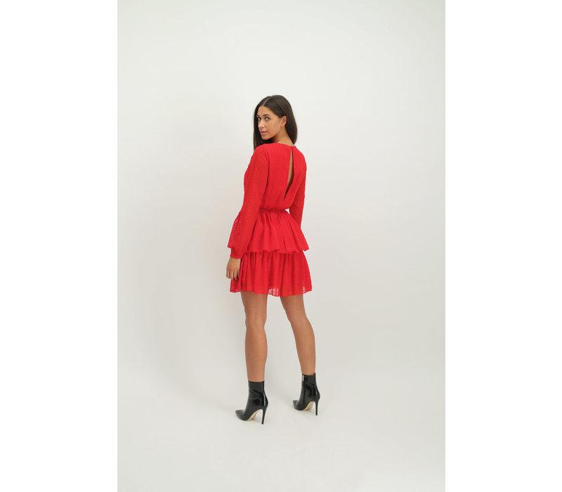 Dress Vincenza red