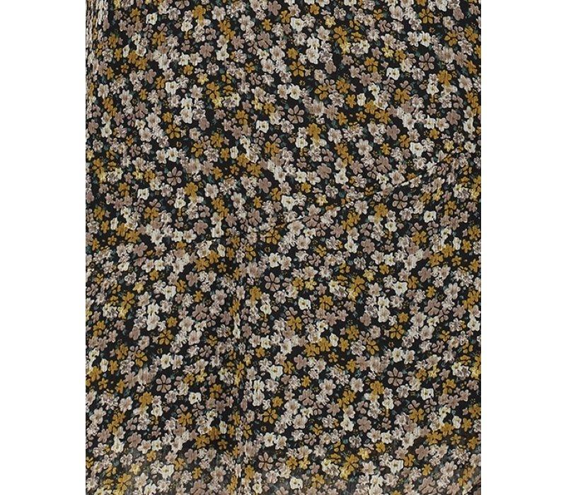 Jurk Bora beige mini flower pes 2