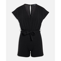 Jumpsuit/playsuit Girl - V play A  Black