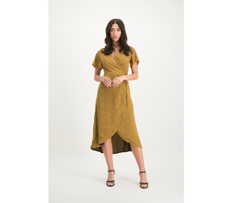 Dress Estella yellow