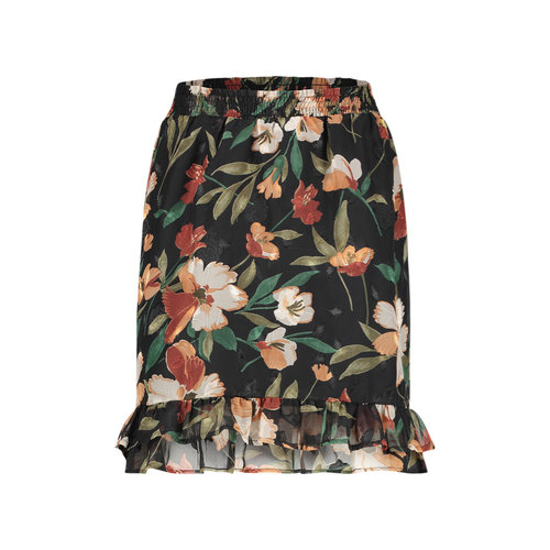 FREEBIRD  Rok Femm Black Flower