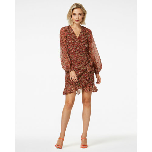 FREEBIRD  Jurk Rosy LS Brown