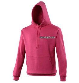 Premium Force UCANJOG Adults Hoodie Hot Pink